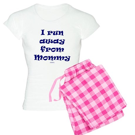 I run away from mommy.png Women's Light Pajamas