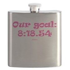 Our goal - 4x800m women indoor PINK.png Flask
