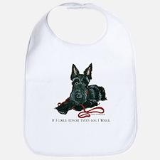 Scottish Terrier Rescue Me Bib