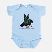Scottish Terrier Rescue Me Infant Bodysuit