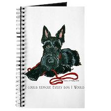 Scottish Terrier Rescue Me Journal