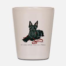 Scottish Terrier Rescue Me Shot Glass