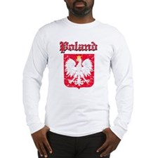 Poland Coat of arms Long Sleeve T-Shirt