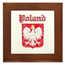 Poland Coat of arms Framed Tile