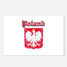 Poland Coat of arms Postcards (Package of 8)