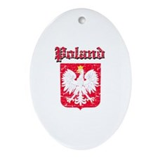 Poland Coat of arms Ornament (Oval)