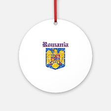Romania Coat of arms Ornament (Round)