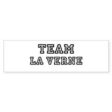 Team La Verne Bumper Bumper Sticker