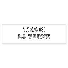 Team La Verne Bumper Bumper Sticker