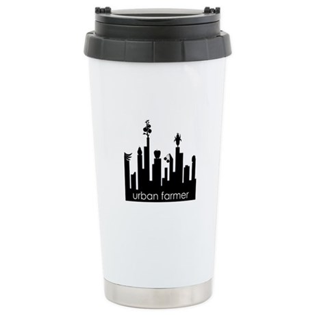 Urban Farmer Stainless Steel Travel Mug