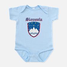 Slovenia Coat of arms Infant Bodysuit