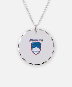 Slovenia Coat of arms Necklace