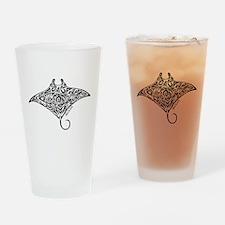 Hawaiian Manta Drinking Glass