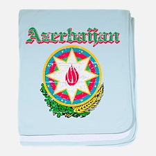 Azerbaijan Coat of arms baby blanket