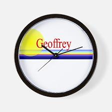 Geoffrey Wall Clock