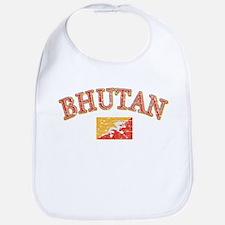 Bhutan Flag Designs Bib