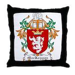 MacKeggan Coat of Arms Throw Pillow