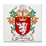 MacKeggan Coat of Arms Tile Coaster