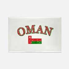 Oman Flag Designs Rectangle Magnet