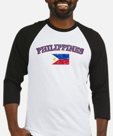 Philippines Flag Designs Baseball Jersey