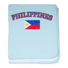 Philippines Flag Designs baby blanket
