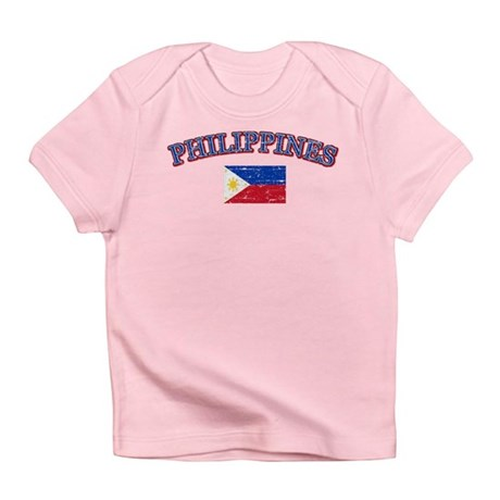 Philippines flag designs infant t shirt for Philippines t shirt design