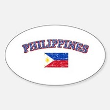 Philippines Flag Designs Decal