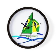 Brazil 470 Class Sailing Wall Clock