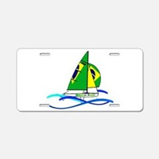 Brazil 470 Class Sailing Aluminum License Plate