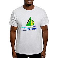 Brazil 470 Class Sailing T-Shirt