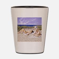 Fischer Paul Sunbathing In The Dunes.jpg Shot Glas