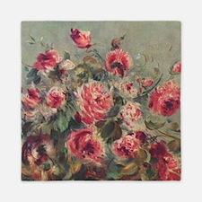 Pierre-Auguste Renoir Roses Queen Duvet