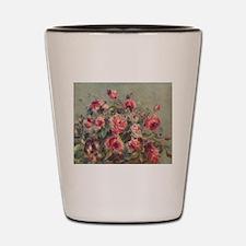 Pierre-Auguste Renoir Roses Shot Glass