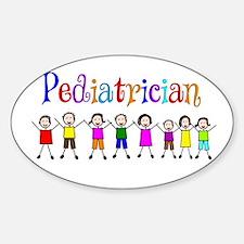 Pediatrician.PNG Sticker (Oval)