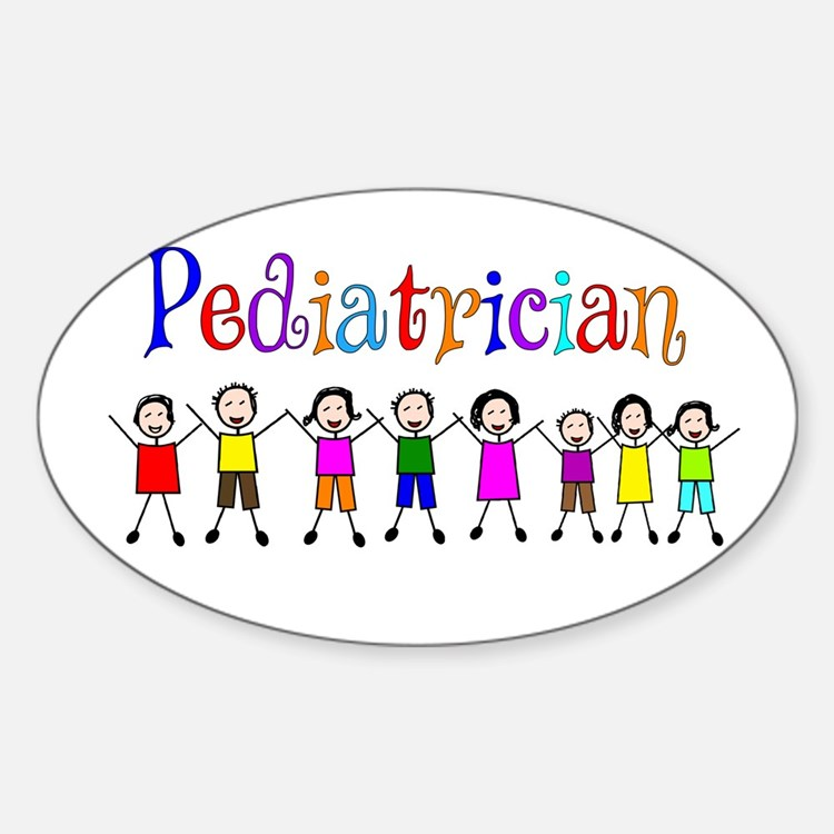 Pediatrician.PNG Sticker (Oval)