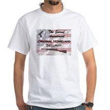 White 2nd amendment T-Shirt