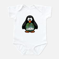 Lamont Tartan Penguin Infant Bodysuit