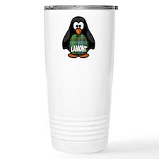 Lamont Tartan Penguin Travel Mug