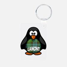 Lamont Tartan Penguin Keychains