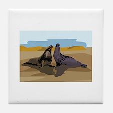 Seal Tile Coaster