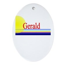 Gerald Oval Ornament