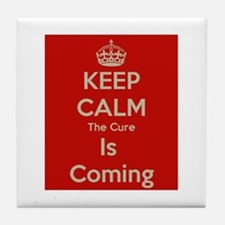 Keep Calm Tile Coaster