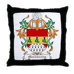 Machonchy Coat of Arms Throw Pillow