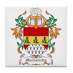 Machonchy Coat of Arms Tile Coaster