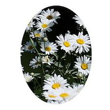 Daisy Ornament (Oval)