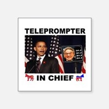 """TELEPROMPTER Square Sticker 3"""" x 3"""""""