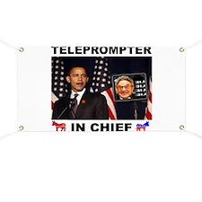 TELEPROMPTER Banner