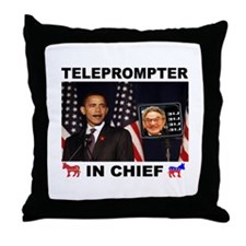 TELEPROMPTER Throw Pillow