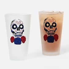 skull2 Drinking Glass