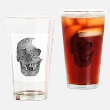 skull3 Drinking Glass